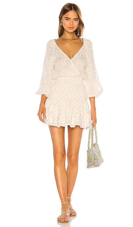 Mae Shirred Mini Dress Suboo $270 BEST SELLER