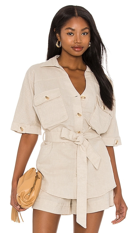 Cecile Linen Shirt Suboo $170 BEST SELLER