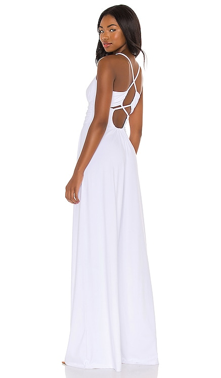 Thin Strap Ruched Back Jumpsuit Susana Monaco $188