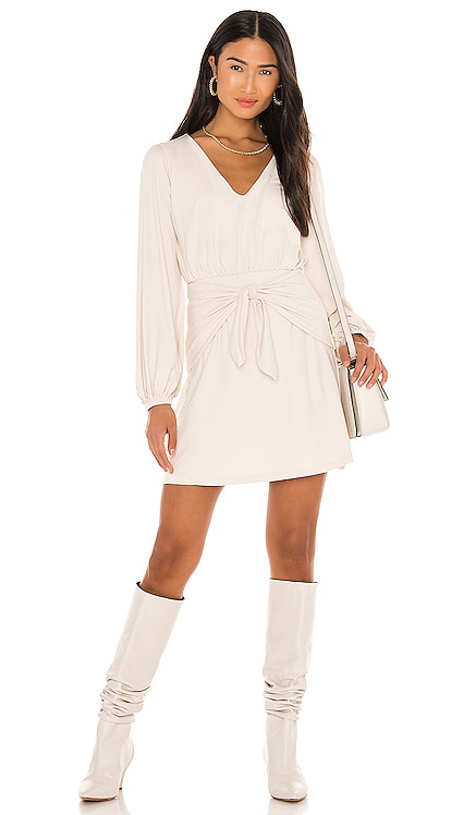 Tie Panel Gathered Sleeve Dress Susana Monaco $178
