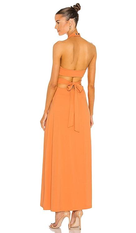 High Neck Low Back Dress Susana Monaco $198 NEW