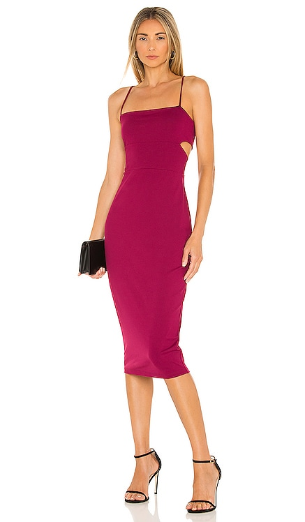 Cutout Strap Solid Dress Susana Monaco $168 BEST SELLER
