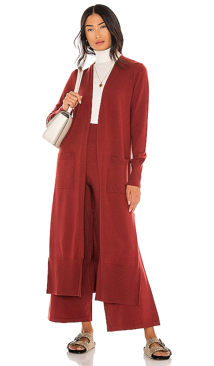 Ribbed Duster Cardigan Susana Monaco $168 NEW