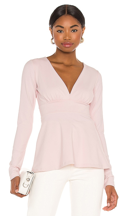 Deep V Flare Top Susana Monaco $148 NEW