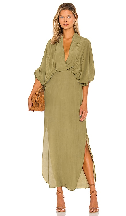 Plunge Dress SWF $319 NEW