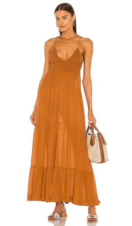 Shirred Maxi Dress SWF $349 BEST SELLER