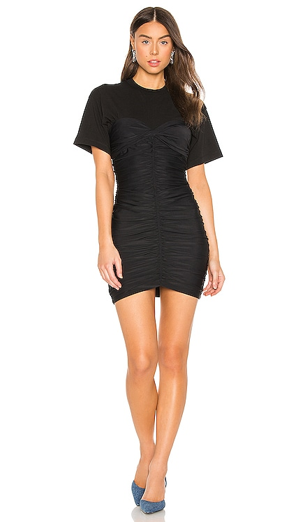 Ruched Bodycon Mini Dress T by Alexander Wang $395