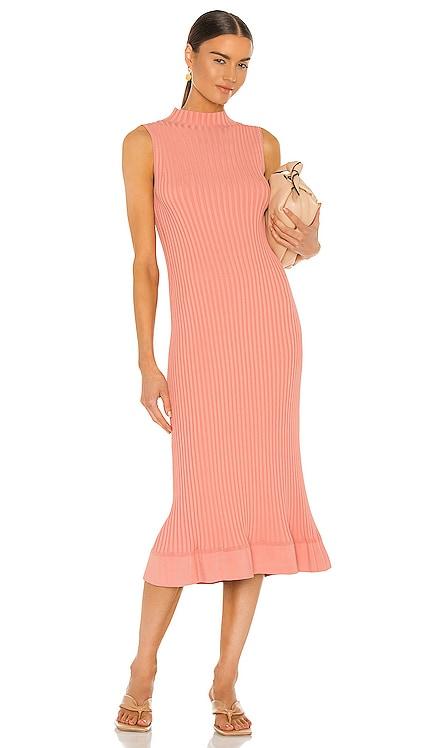 Flared Rib Dress Theory $210