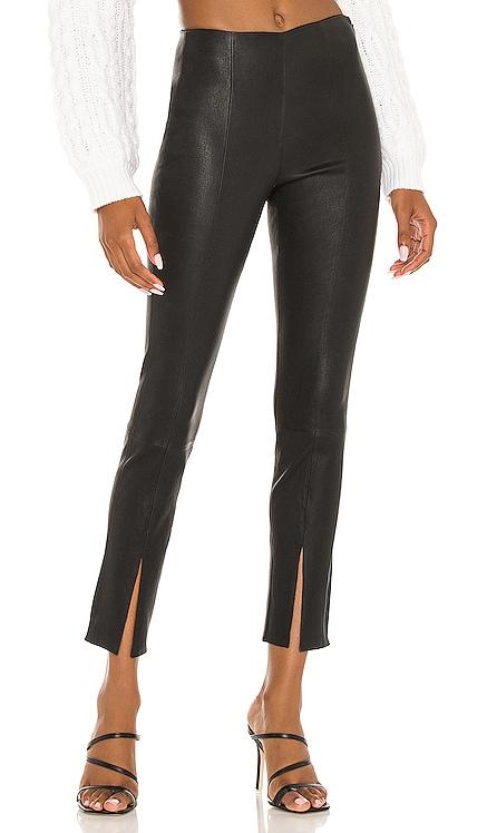 Slit Leather Legging Theory $795 BEST SELLER