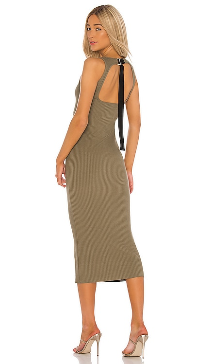 Vital Rib Utilitarian Tank Dress The Range $265 NEW ARRIVAL