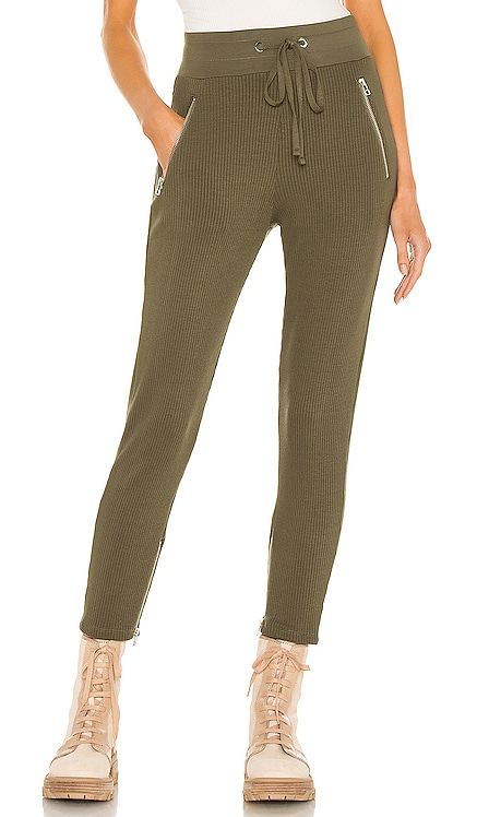Alloy Rib Zip Pant The Range $225 NEW