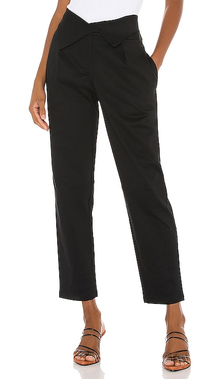 Structured Twill Fold Over Pants The Range $158