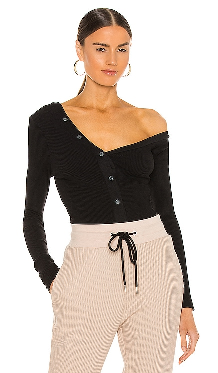 Mass Rib Tilted Button Blouse The Range $175 NEW