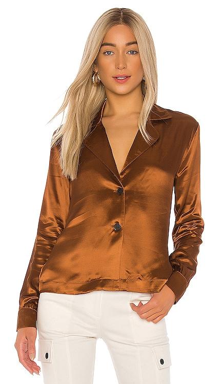 Liquid Satin Blazer Shirt The Range $395