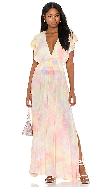 Dahlia Maxi Dress Tiare Hawaii $95