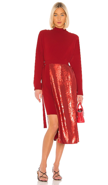Triacetate Sequin Paneled Dress Tibi $135 (FINAL SALE)