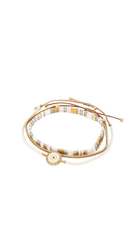 Set of 3 Handmade Beaded Bracelets TAI Jewelry $56