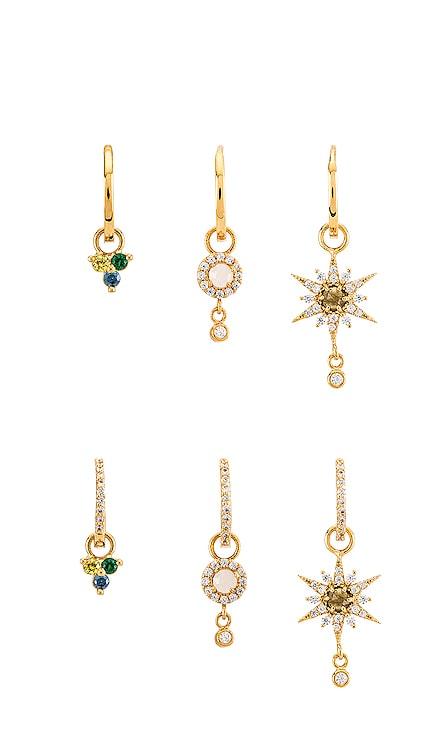 Huggie Earring Set TAI Jewelry $140
