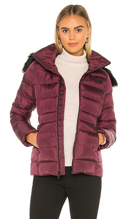 Gotham Jacket II With Faux Fur Trim The North Face $138
