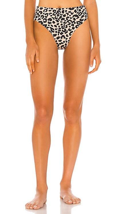 Savannah Cheeky High Leg High Waist Bikini Bottom Tori Praver Swimwear $89 BEST SELLER