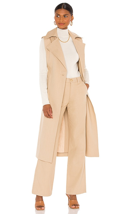 Chelsea Sleeveless Trench TRAVE $598