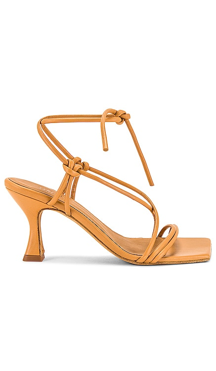 Honey Leather Sandals with Straps TORAL $234 BEST SELLER
