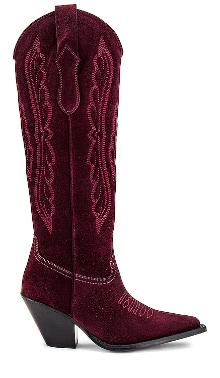Knee High Western Boot TORAL $478 NEW