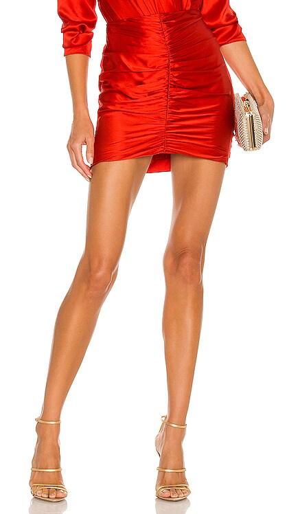 Ruched Mini Skirt The Sei $517 NEW