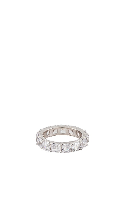 Cushion Cut Eternity Band Ring The M Jewelers NY $100