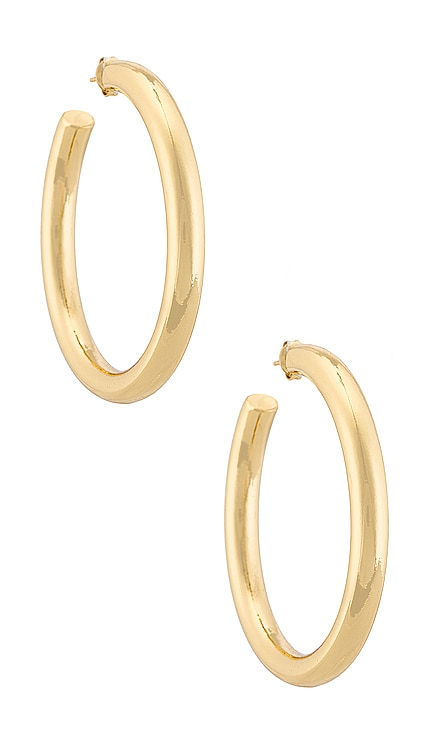 PENDIENTES THICK HOOP The M Jewelers NY $70
