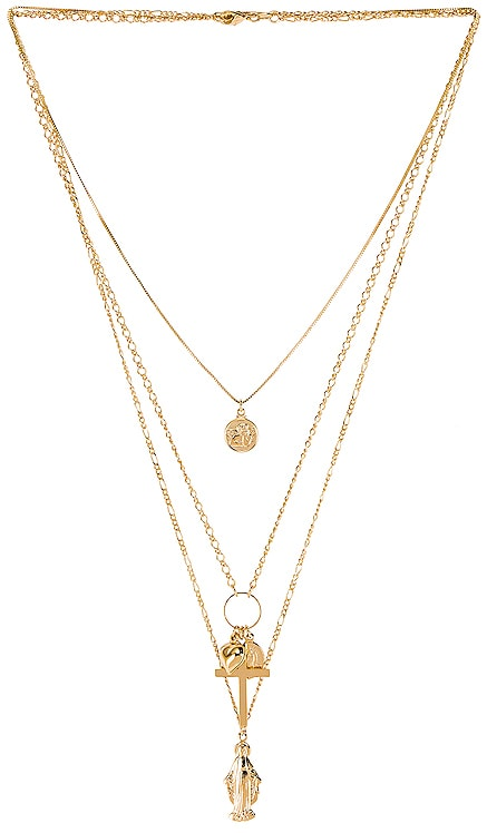 Full Saint Layer Necklace The M Jewelers NY $47