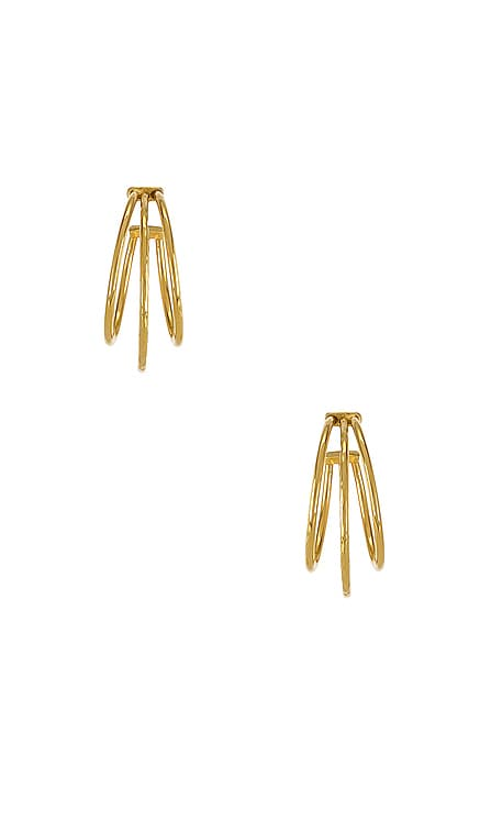 Triple Hoop Earring The M Jewelers NY $72