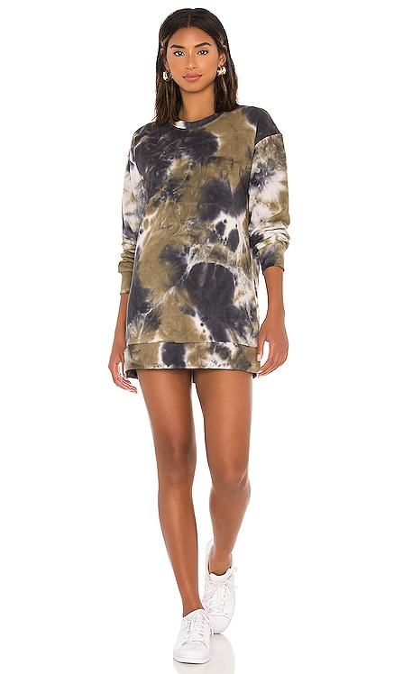 Tyla Sweatshirt Dress Tularosa $148 NEW