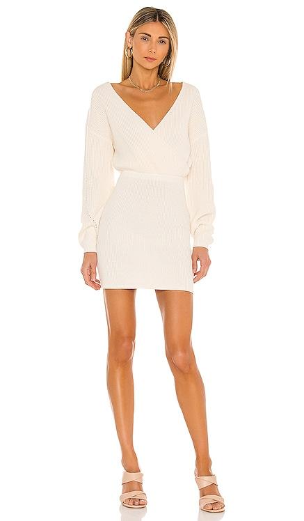 Mia Surplice Mini Dress Tularosa $178 BEST SELLER