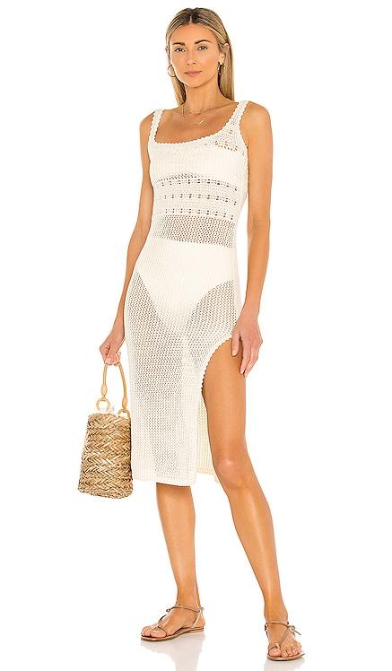 Nico Midi Dress Tularosa $198 NEW
