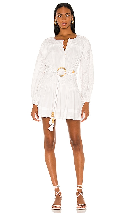 Cierra Embroidered Dress Tularosa $258 NEW
