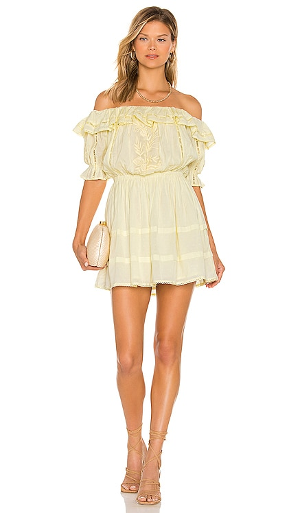 Brielle Embroidered Dress Tularosa $228