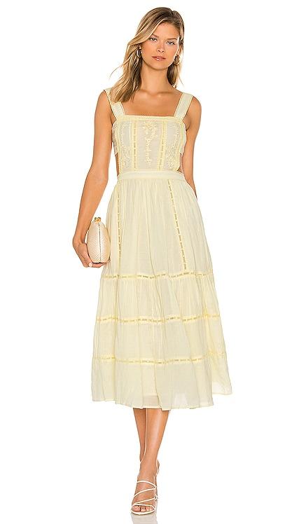 Eleanora Embroidered Dress Tularosa $248