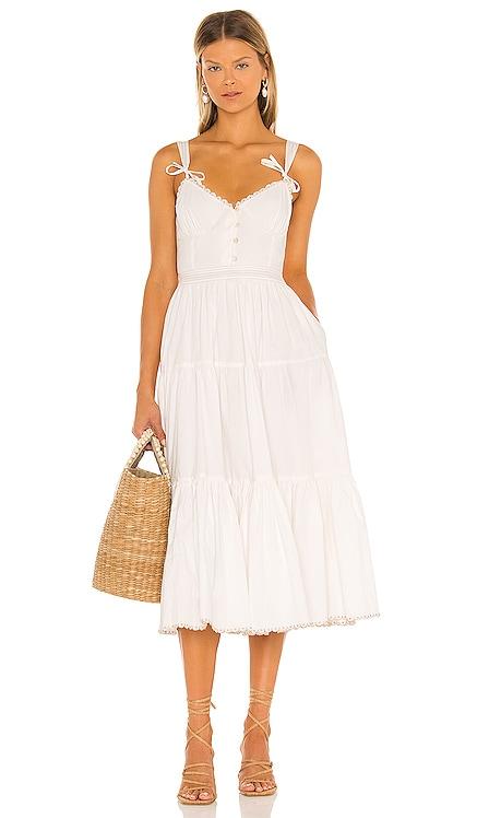 Poppy Midi Dress Tularosa $278