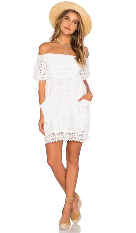 Quinn Smocked Dress Tularosa $70