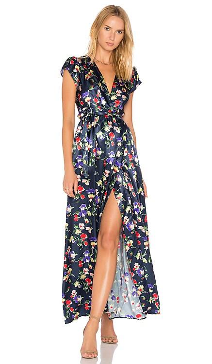 Sid Wrap Dress Tularosa $64