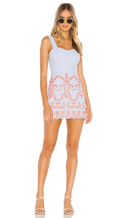 Ari Embroidered Dress Tularosa $158 BEST SELLER