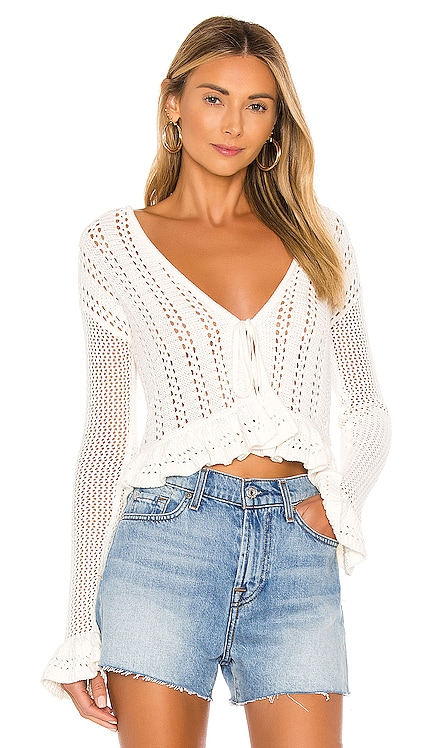 Ohana Crochet Cardigan Tularosa $168 BEST SELLER