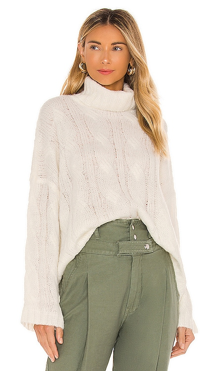 Greta Turtleneck Sweater Tularosa $138 NEW