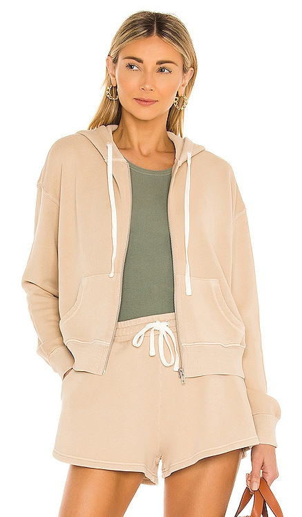 Green The Gaia Zip Up Hoodie Tularosa $168 NEW