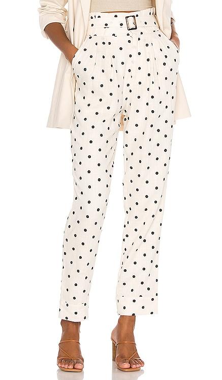 Zuri Embroidered Pant Tularosa $137