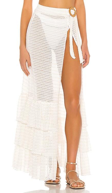 Cayman Wrap Skirt Tularosa $228 BEST SELLER