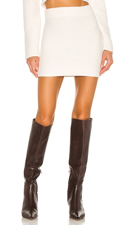 Cozy Ivy Mini Skirt Tularosa $148 BEST SELLER