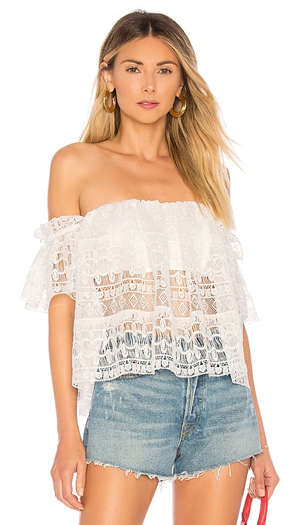 Amelia Crop Top Tularosa $74