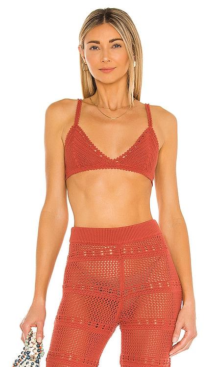 Hayden Crochet Bra Tularosa $128